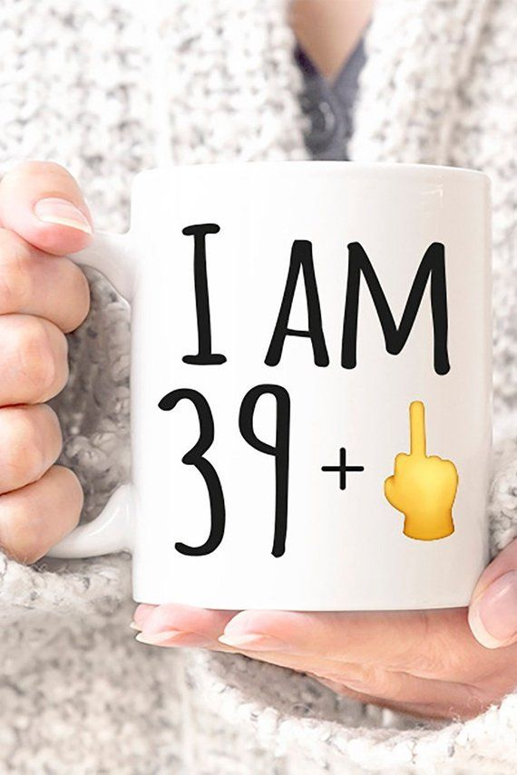 40th Birthday Gift Mug For Forty Funny Emoji Fortyaf 40thbirthday 40thbirthdayparty