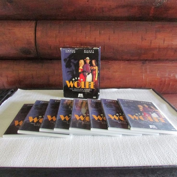 Nero Wolfe 8 DVD Box Set Timothy Hutton Maury Chaykin Complete Series