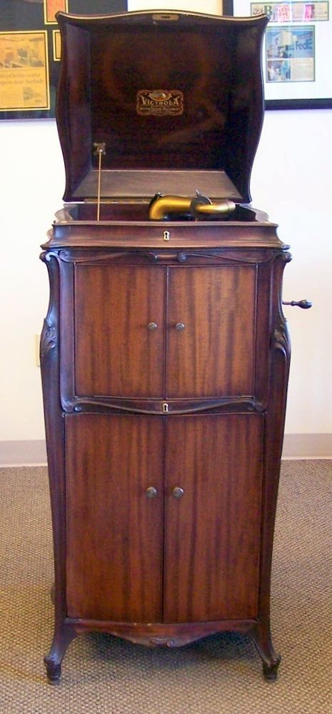 Antique 1920 S Victrola Phonograph Vv 1252521 Victor