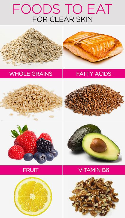 Your Clear Skin Diet: Best and Worst Foods for Your Skin