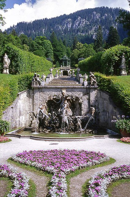 Schloss Linderhof, Ammergau, Germany