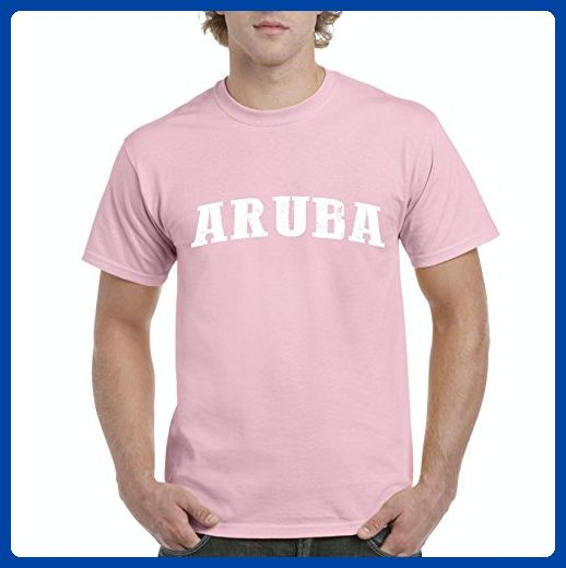 Ugo What to do in Aruba? Travel Time Flag Map Guide Flights Top 10 Things To Do Men's T-Shirt Tee - Cities countries flags shirts (*Amazon Partner-Link)