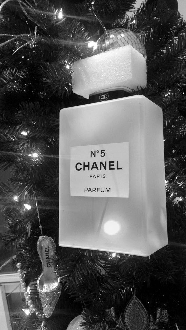 CHANEL Christmas Tree  perfume bottle