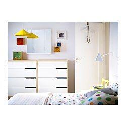 MANDAL Kommode, 4 skuffer - IKEABedrooms Boys, Mandal Chest, Mandal 4 ...