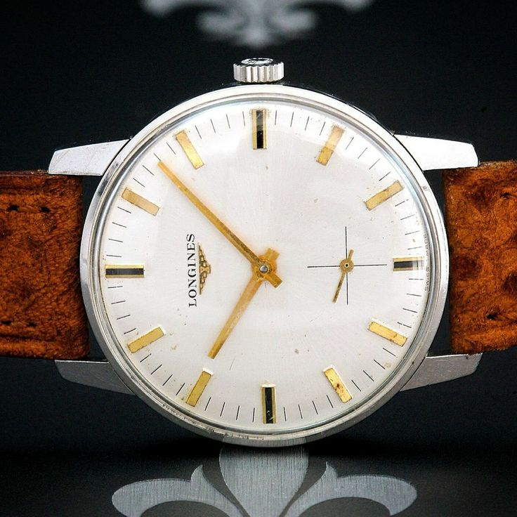 Serviced 1950s LONGINES Swiss Vintage Gents Classy Dress Watch Longines Cal. 490