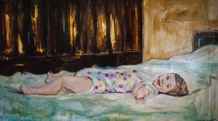 Little Girl, Oil on Canvas, 70X1.30, 2015