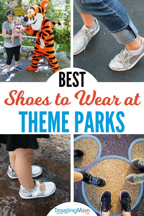 Most Comfortable Walking Shoes for Theme Park Travel