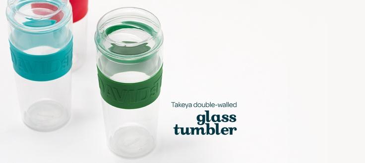 Double Wall Glass Tumbler by DavidsTea