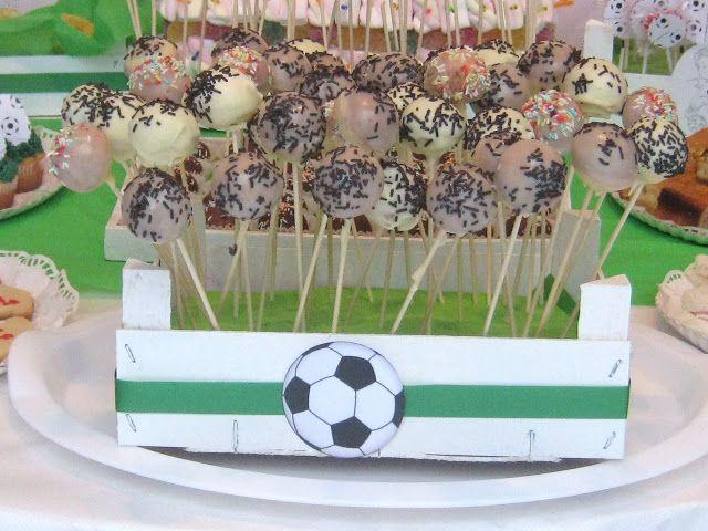 Chocolate y burbujas fiesta de cumplea os futbolera - Ideas para cumpleanos adulto ...