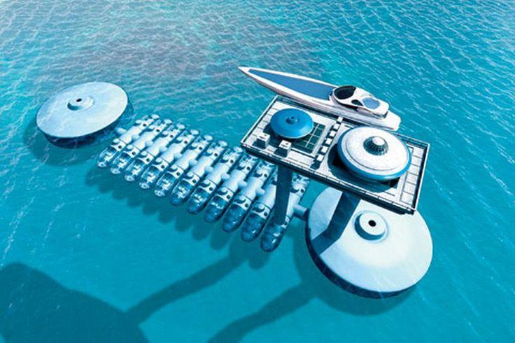 подводный отель фиджи