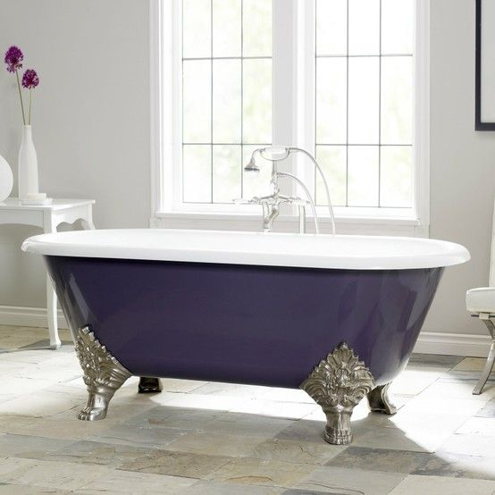 I would step into this purple tub