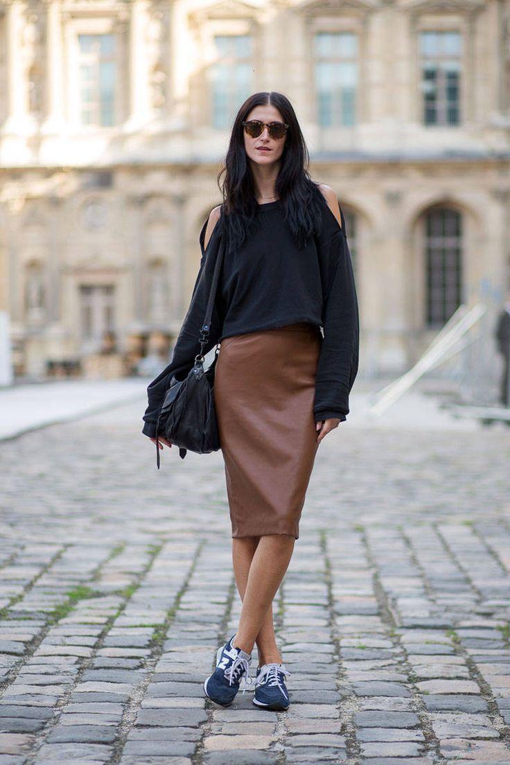 Paris Street Style Spring 2015 - Harper's BAZAAR