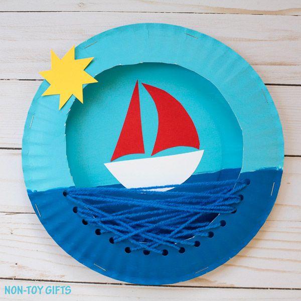 Boat Crafts, Summer Crafts For Kids