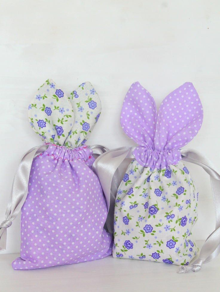 85 best easter sewing projects images on pinterest easter crafts bunny diy treat bags negle Gallery