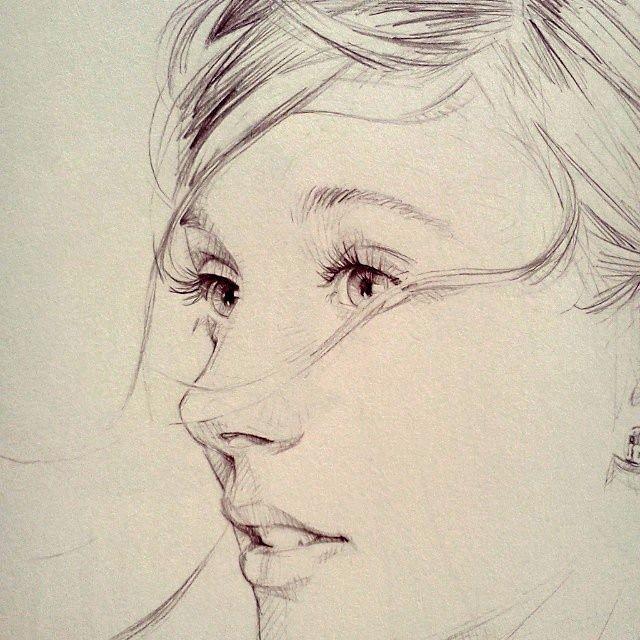 David Malan - Drawing up close - http://brilliantanyway.blogspot.com.ar/2014/03/drawing-up-close.html