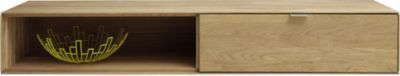 TV-Unterteil Hängeschrank Wildeiche massiv bianco geölt Jetzt bestellen unter: https://moebel.ladendirekt.de/wohnzimmer/tv-hifi-moebel/tv-lowboards/?uid=2a7d8b4e-3463-50a8-bbb1-636b74b45007&utm_source=pinterest&utm_medium=pin&utm_campaign=boards #tvlowboards #wohnzimmer #medienelektronik #tvhifimoebel Bild Quelle: plus.de