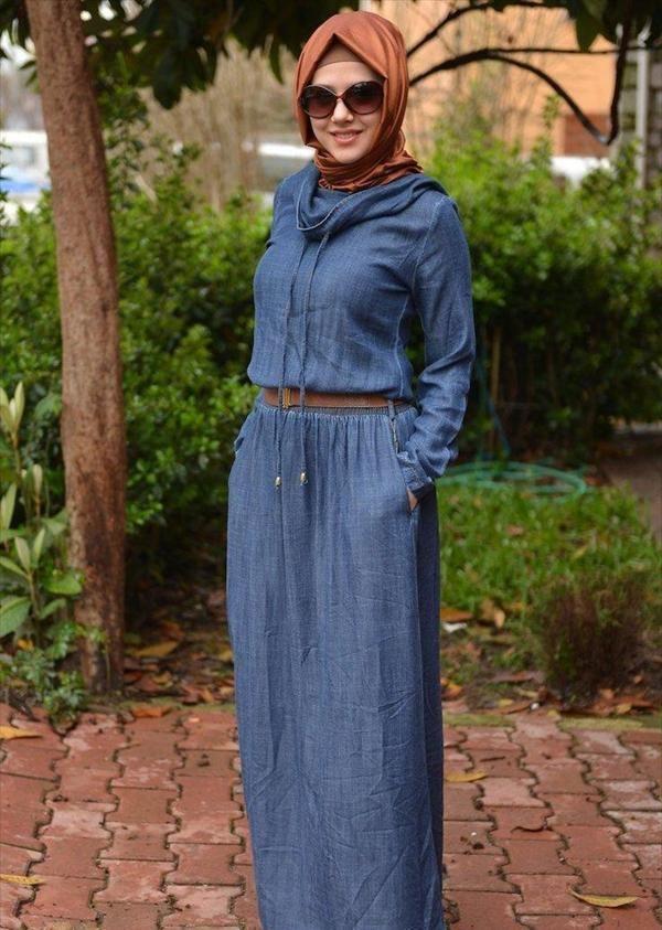 une robe de hijab 2014