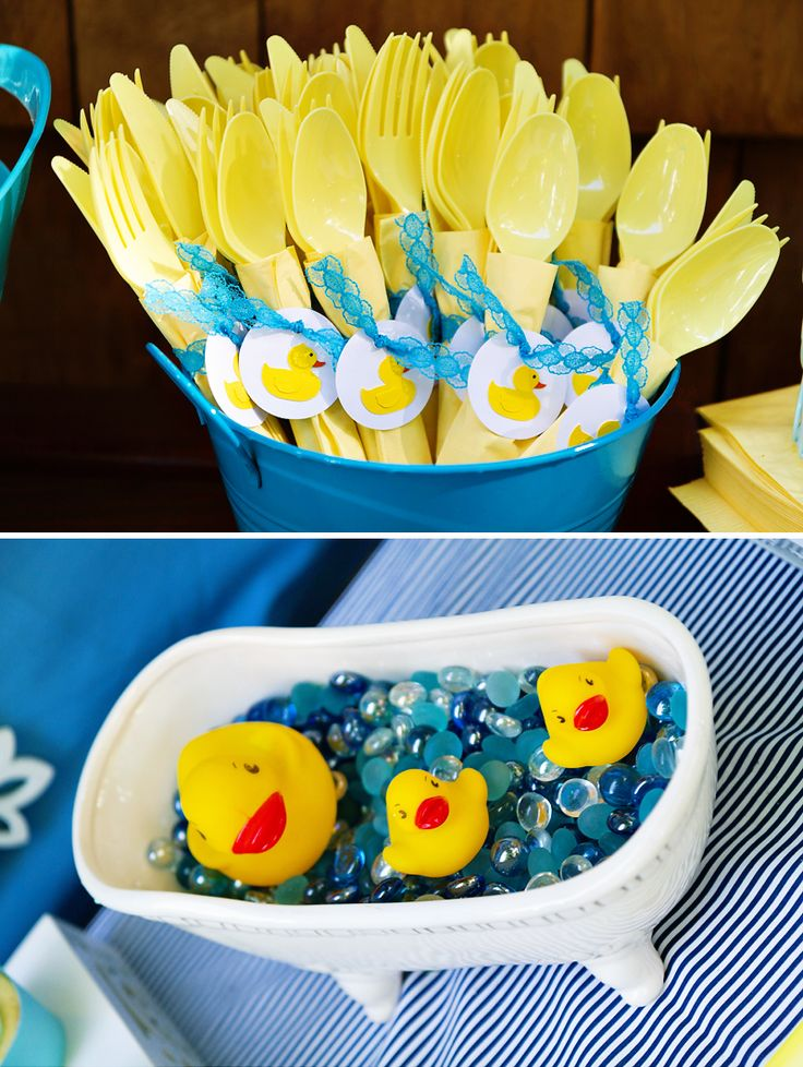 Crafty & Charming Rubber Ducky Baby Shower