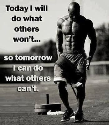 "Do what others won't! Also click the image for a great article called ""10 Ways Juicing Builds Muscle Faster"""