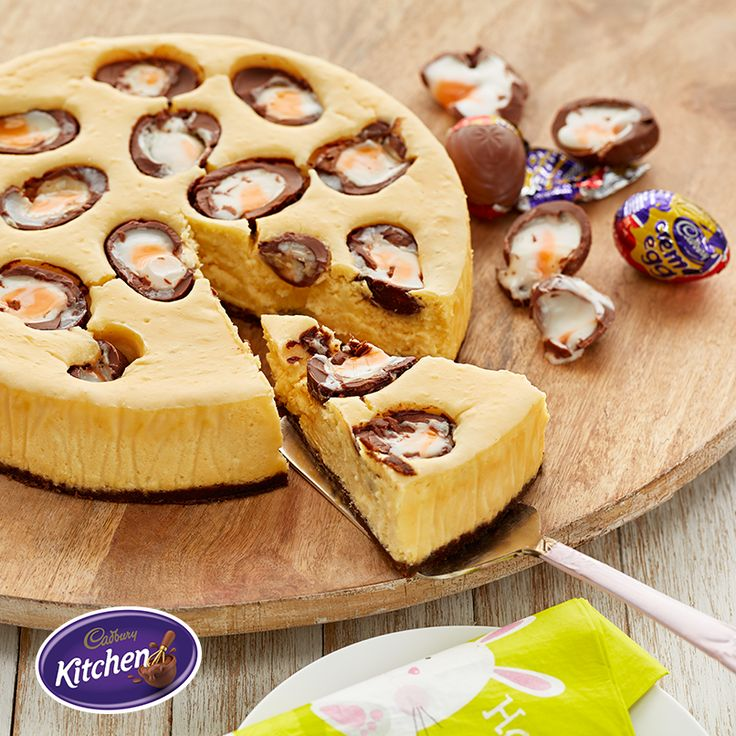 My love of CADBURY CRÈME EGG knows no bounds. Without further ado, allow me present you with the show-stopping dessert I'll be serving this Easter Sunday!  #HappyEaster #CADBURY #makeitdelicious #CadburyKitchen #makeitdelicious #cremeegg #chocolate #baking #Easterrecipes #Easter #dessert