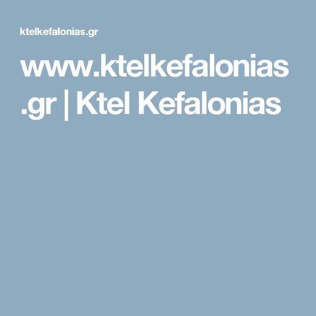 www.ktelkefalonias.gr | Ktel Kefalonias
