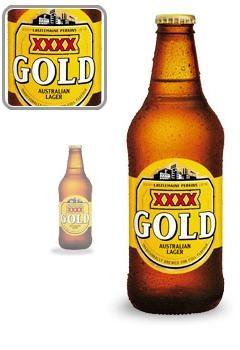 XXXX GOLD - Queensland Beer