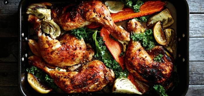 Smoked Paprika Chicken Marylands | In Season: Winter | Pete Evans