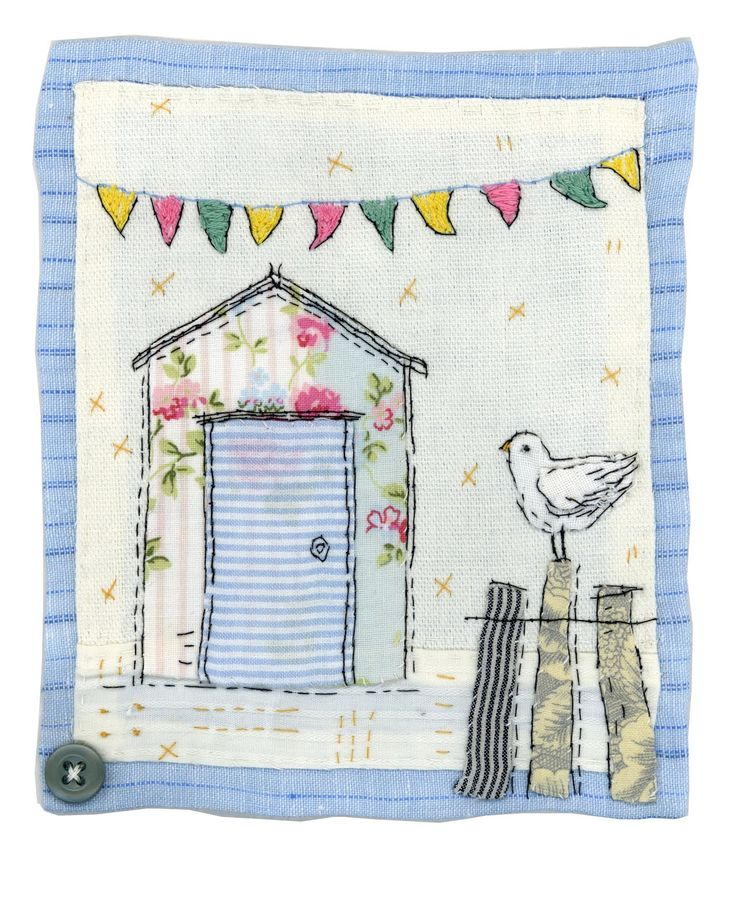 Another watering can - I do like them filled with lovely garden blooms! A floral beach hut for a change... This sweet ballet dancer was...