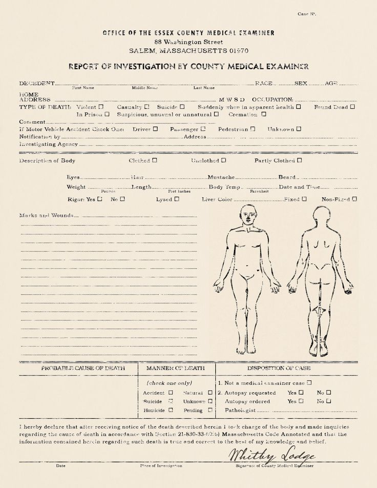 medical documents 1920s - Google Search Endell St, St Pauls and - medical report template
