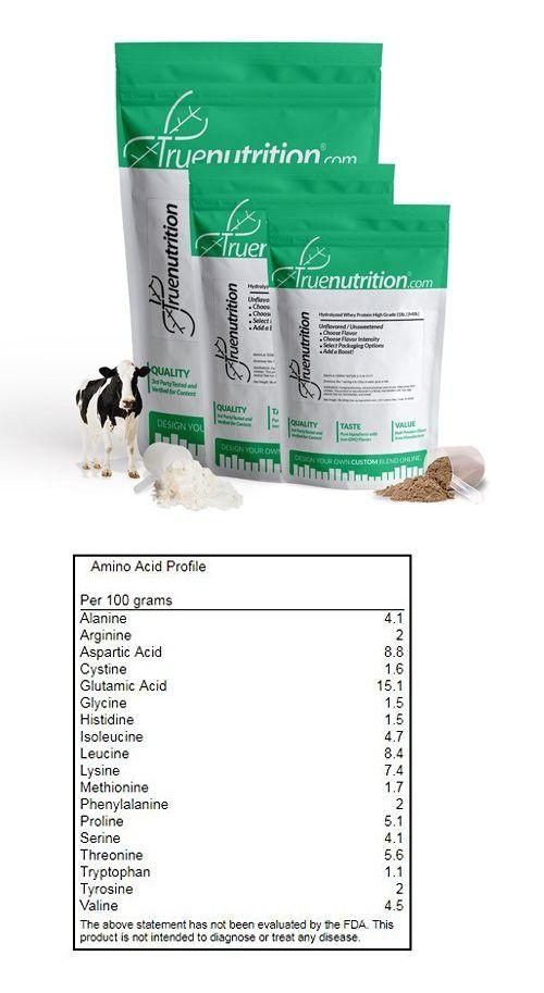 True Nutrition Hydrolyzed Whey Protein High Grade [Milk] (Chocolate 1lb.)
