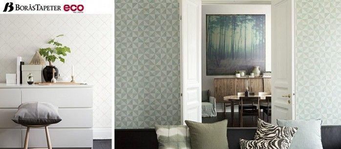 Eco Dimensions, Boras Tapeter Wallpaper - behang. Al het behang uit deze collectie wordt milieuvriendelijk geproduceerd.