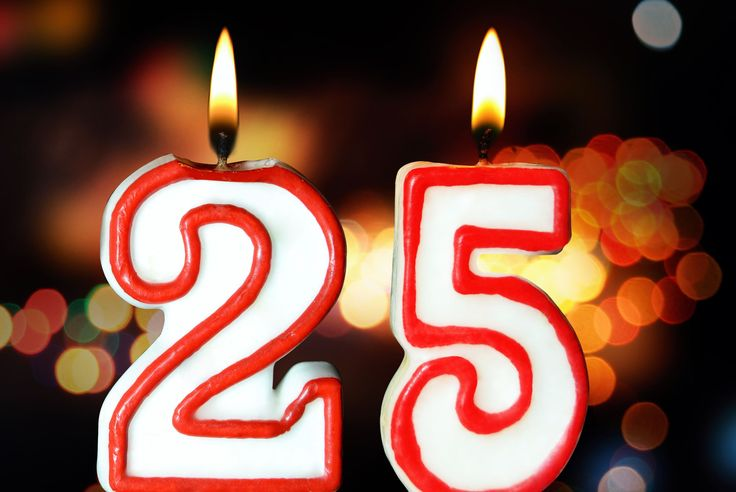 25 Things Turning 25 in 2016