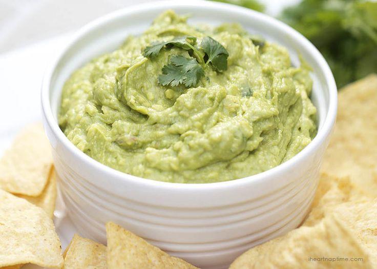 BEST Homemade Guacamole! A favorite dip everyone will love!!