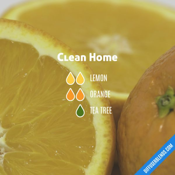 Clean Home - Essential Oil Diffuser Blend