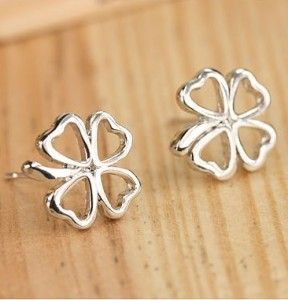 >> Click to Buy << fashion Korean jewelry Clover Clover Pierced earrings female  Personalized  New Fashion free shipping #Affiliate