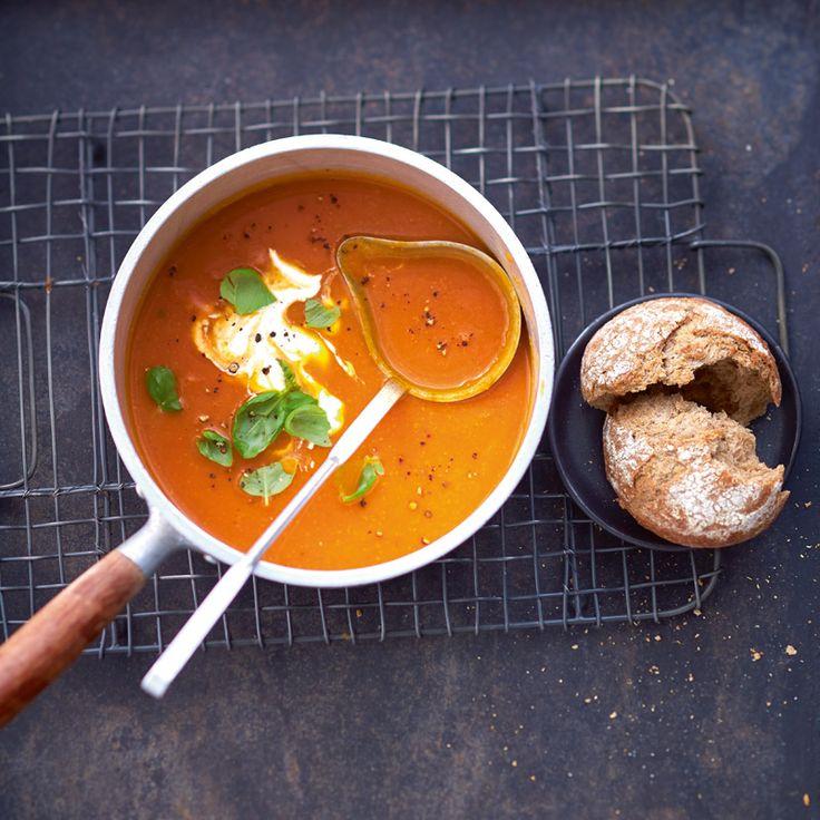 Tomaten-pompoensoep Recept | Weight Watchers Nederland