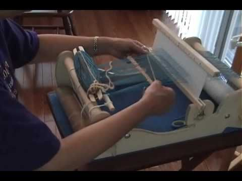 Part 3 Weaving on the Cricket rigid heddle loom