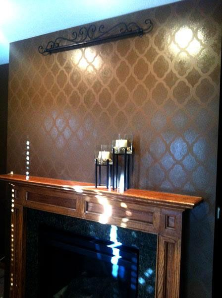 Tone On Tone Painting 40 best wall paint stencil images on pinterest   wall stenciling