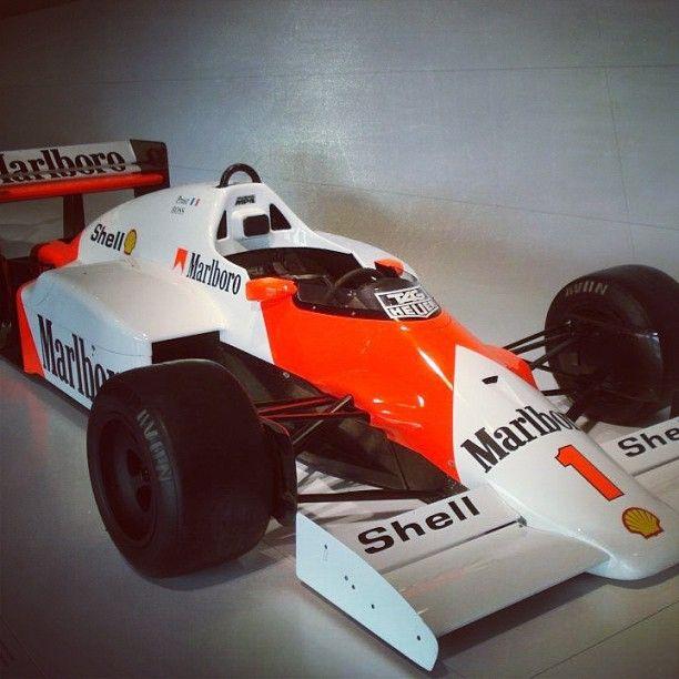 Tag-Porsche powered McLaren