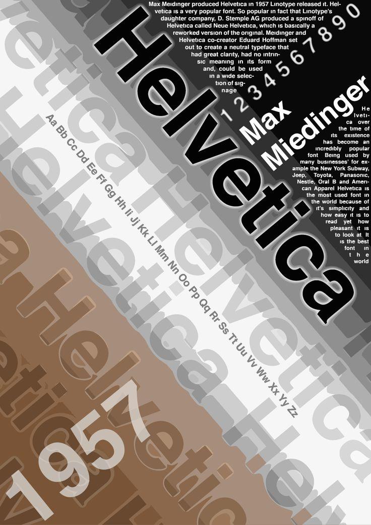 Helvetica Development 4