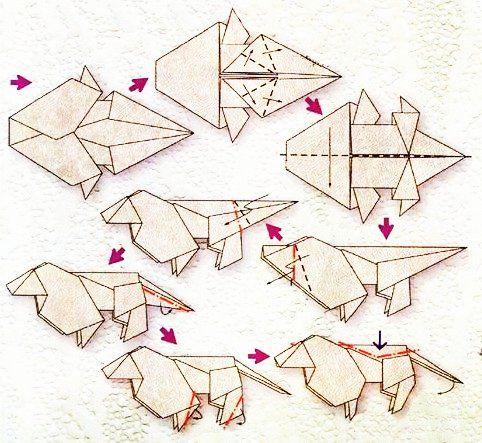 Les 25 meilleures id es de la cat gorie origami lion sur for Les lions du meuble