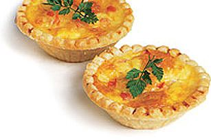 Mini Swiss Cheese Tartlets recipe | Appetizers and Snacks | Pinterest