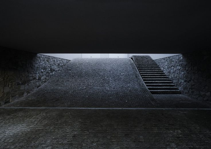 The entrance to my underground garage will look something like this one day...