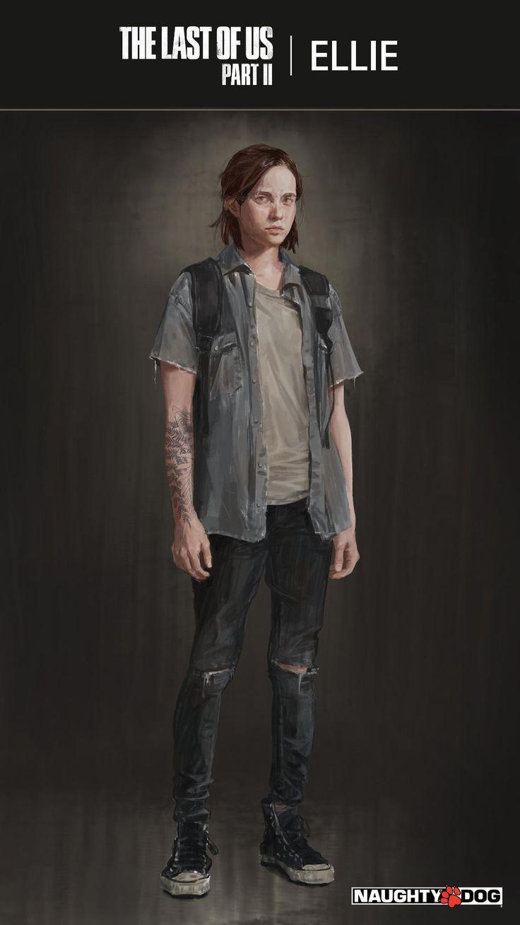 The Last of Us Part II - Veja artwork de Ellie e sua nova tatuagem | PSX Brasil