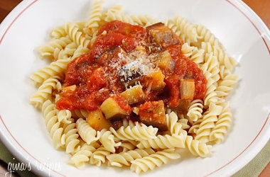 Eggplant and Tomato Sauce Recipes | Pasta Dishes | Pinterest