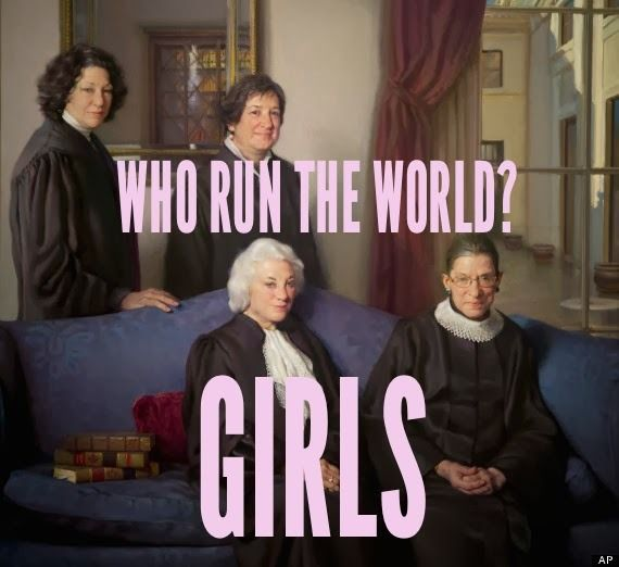 GIRLS! Who run the world!? GIRLS!