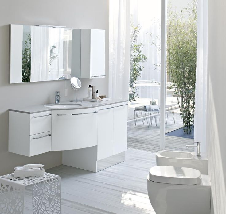 Как выбрать #мебель для ванной  В стандартный набор мебели в ванную обычно входят такие предметы, как #тумба с раковиной, напольная дополнительная тумба, #зеркало, подвесной #шкафчик, пенал или шкаф, а также корзина для белья и полки под #полотенца – это зависит от габаритов помещения. Мебель для ванной обязательно должна соответствовать главным трем параметрам: устойчивость к постоянной влаге, функциональность, привлекательный внешний вид.   ☎ +7 800 555-66-13 http://santehnika-tut.ru/