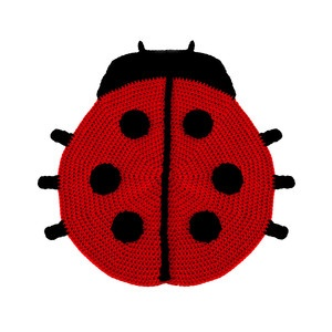 Sophie The Ladybug Rug by Peanut Butter Dynamite - Reet, this is for you!