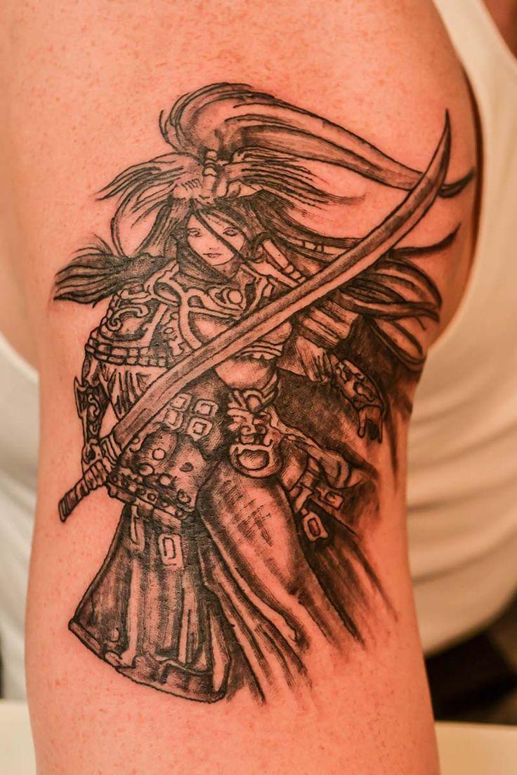 1000 images about minhas tatoos on pinterest david hale for Female samurai tattoo