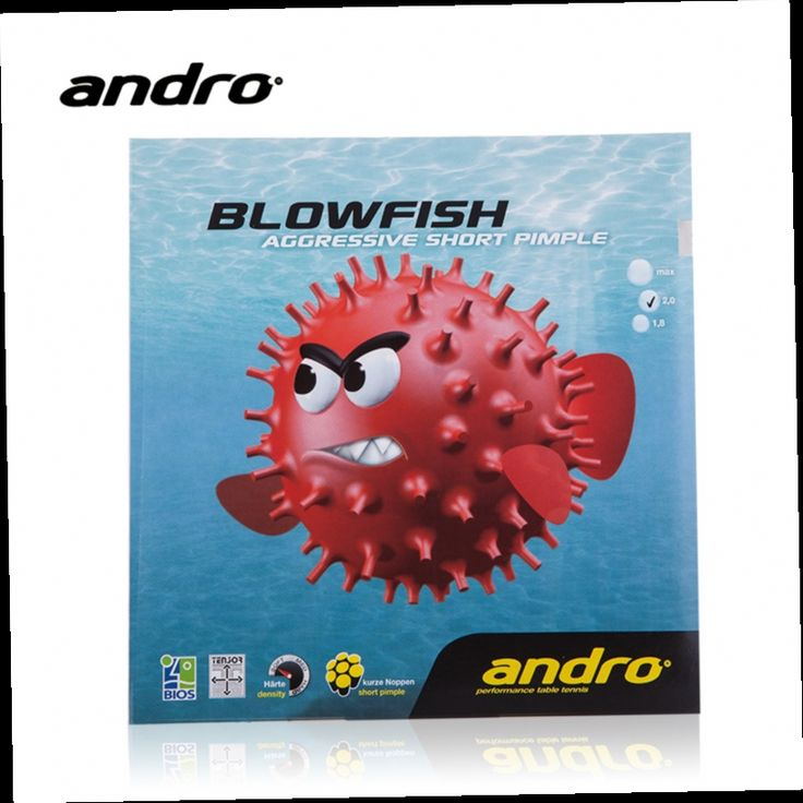 42.25$  Watch here - http://alinsv.worldwells.pw/go.php?t=32297722397 - Andro BLOWFISH Pips-out Table Tennis Rubber Ping Pong Pimples Out With Sponge Tenis De Mesa 42.25$